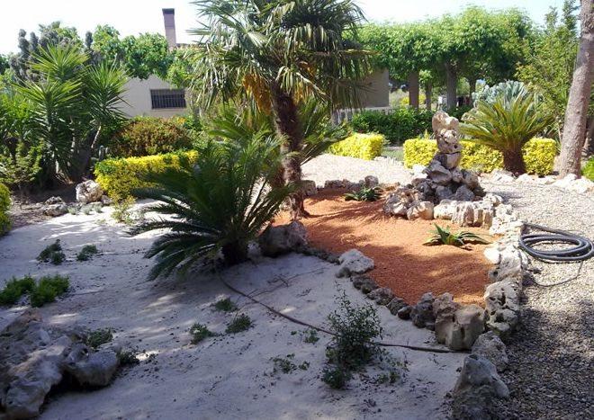 matenimiento de jardines en Miami Playa y l'hospitalet de l'infant
